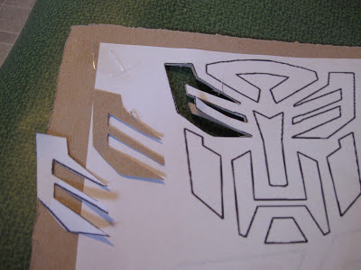 Cake Decorating Exacto Knife : Leading Them To The Rock : EASY DIY Transformers Cakes