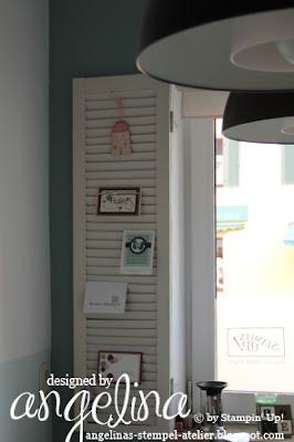 angelinas stempel atelier endlich endlich die fotos vom atelier. Black Bedroom Furniture Sets. Home Design Ideas