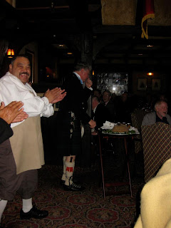"Address ""to A Haggis"" at the Tam O' Shanter"