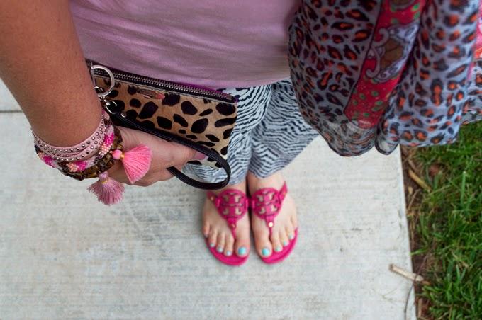 Miller-sandals-Tory-Burch-pink-Leopard-Wristlet