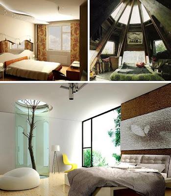 Modern Interior Designer Tempat Tidur