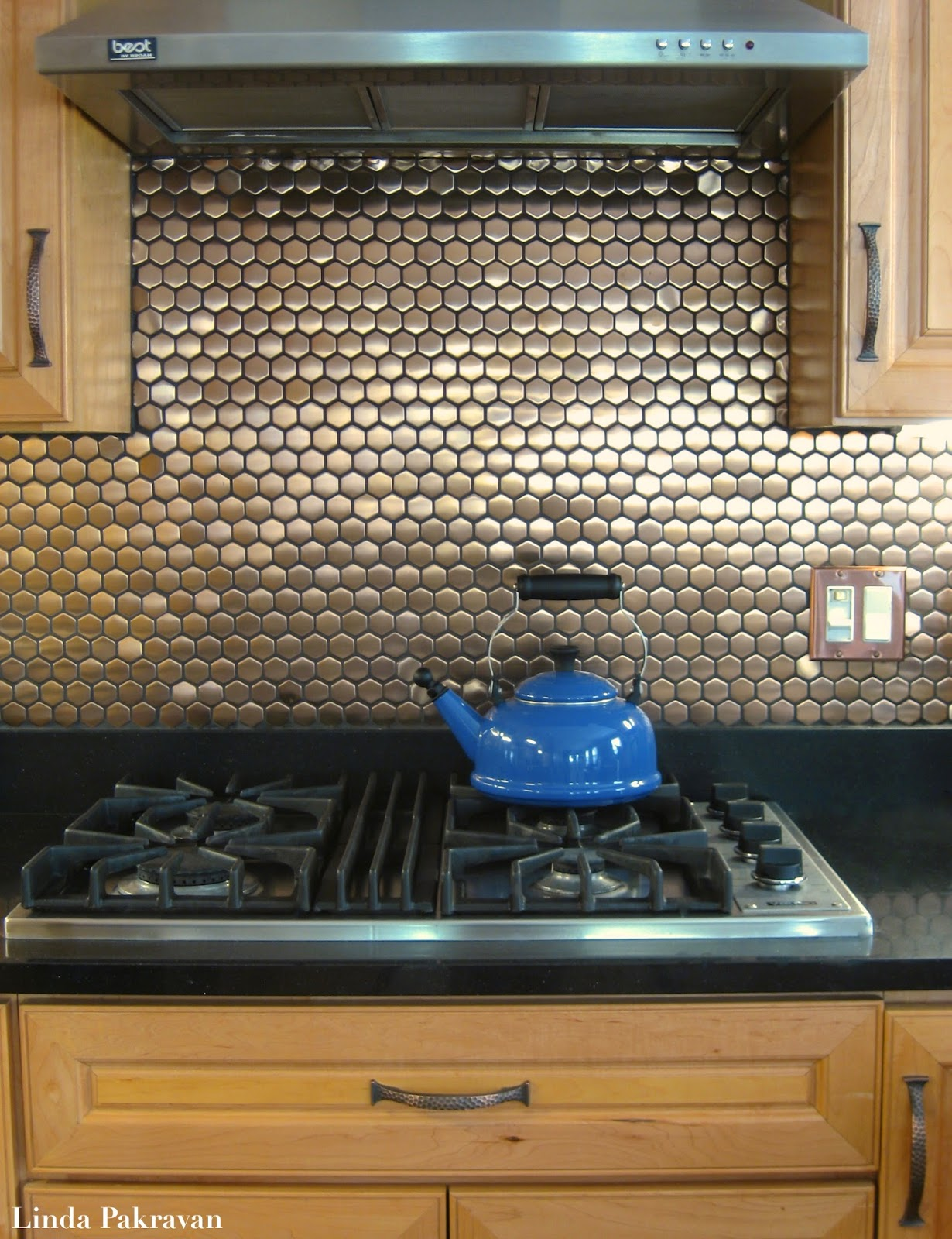 Copper Backsplash Kitchen A Design Snack By Linda Pakravan 04 01 2011 05 01 2011