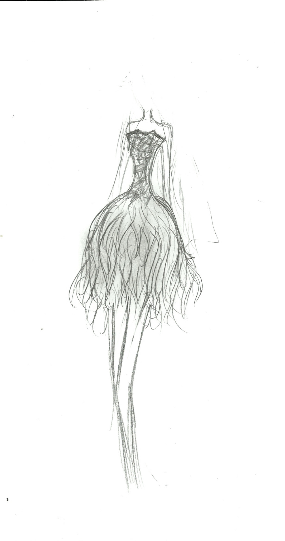 Fashion design sketches of dresses 2013
