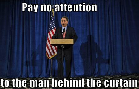 Cognitive Dissidence Pay No Attention To The Man Behind