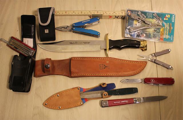 Diverse knivar säljes, muela, victoryknox mm