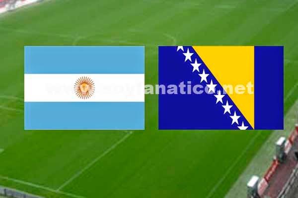 Argentina vs Bosnia 2014 - Grupo F Mundial de Brasil