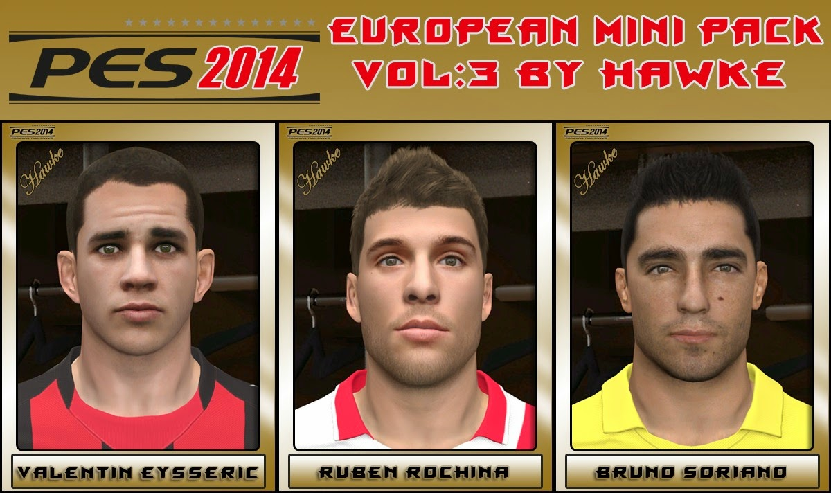 PES 2014 European Mini Pack Vol 3 by Hawke