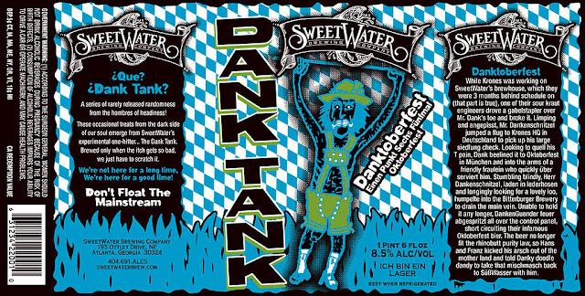 SweetWater DANK TANK Danktoberfest label