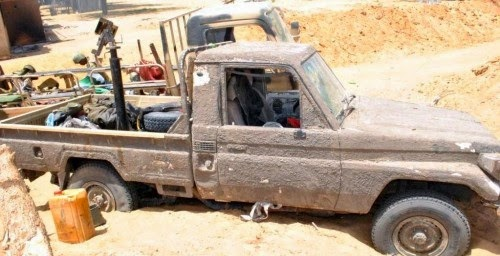 boko+truck Over 200 Boko Haram members killed as terrorists battle military in Maiduguri
