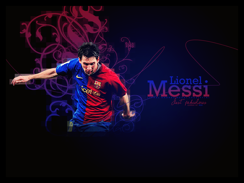 Messi Wallpaper Dark Theme