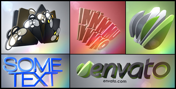 VideoHive 3D Logo Layers