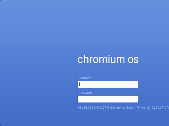 login-chrome-os