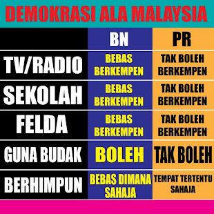 DEMOKRASI ALA MALAYSIA SEPANJANG 55 TAHUN UBN MENJADI KERAJAAN