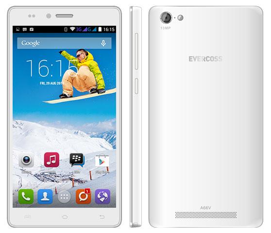 Evercoss A66V, Smartphone Android dengan Layar Besar dan Kamera Selfie 5MP