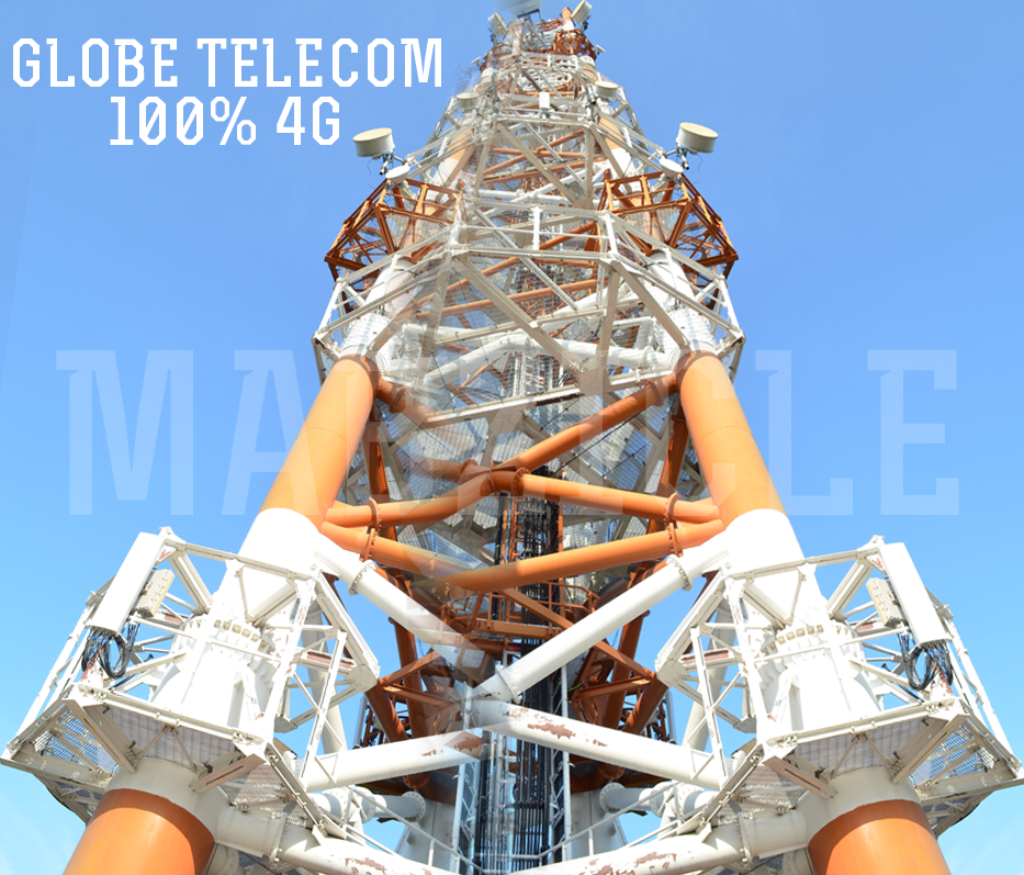 Globe Network Is Now 100% 4G