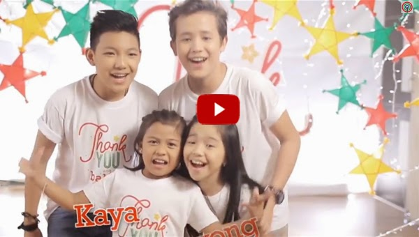 The Voice Kids PH sing ABS-CBN's 2014 Christmas theme song