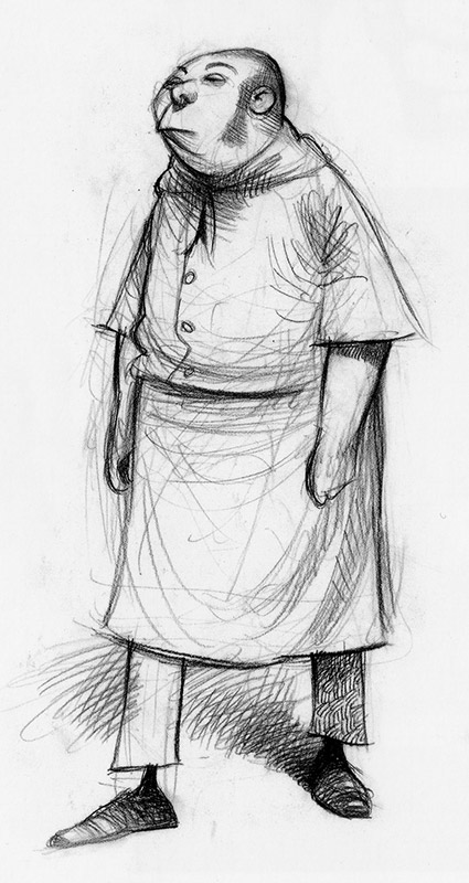 Character Design Ratatouille : Living lines library ratatouille concept art