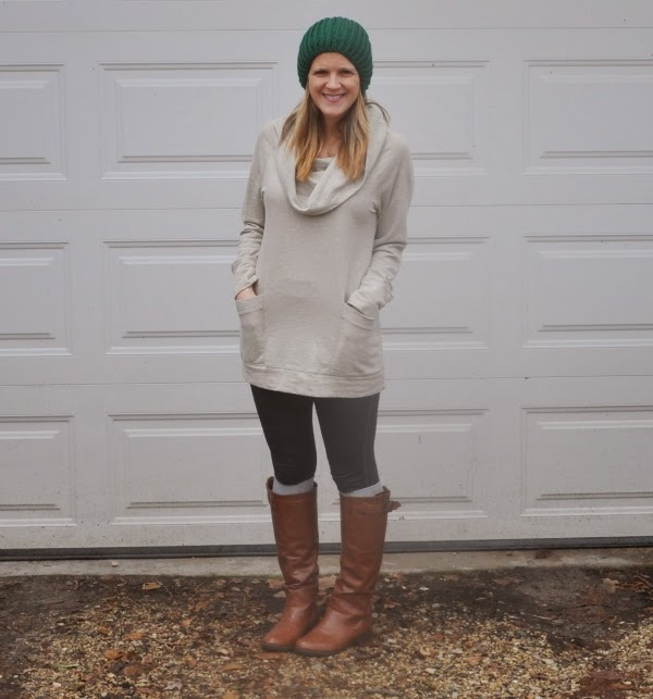 hat and tunic
