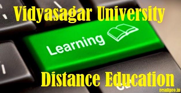 Courses offered vidyasagar university distance education