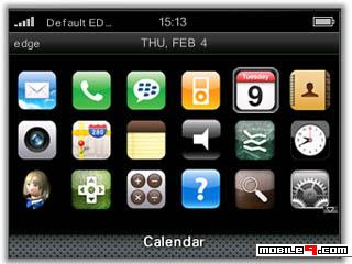 Tema BlackBerry 8520 iPhone Download Tema BlackBerry 8520 Gratis 2012