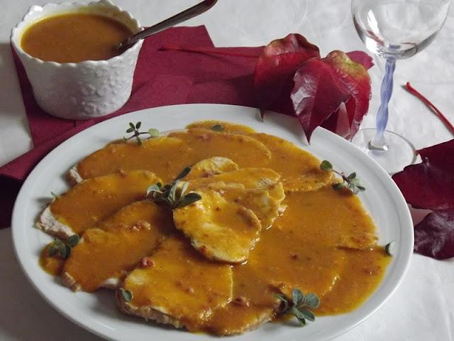 la buona cucina di katty: arrosto di tacchino in salsa (con la ... - Come Cucinare Il Rollè Di Tacchino