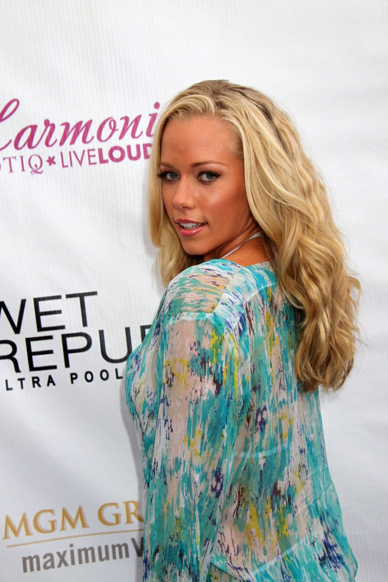 Kendra Wilkinson's Breasts Hosted A Pool Party