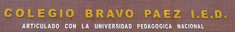 COLEGIO BRAVO PÁEZ - EDUCACIÓN MEDIA ARTICULADA