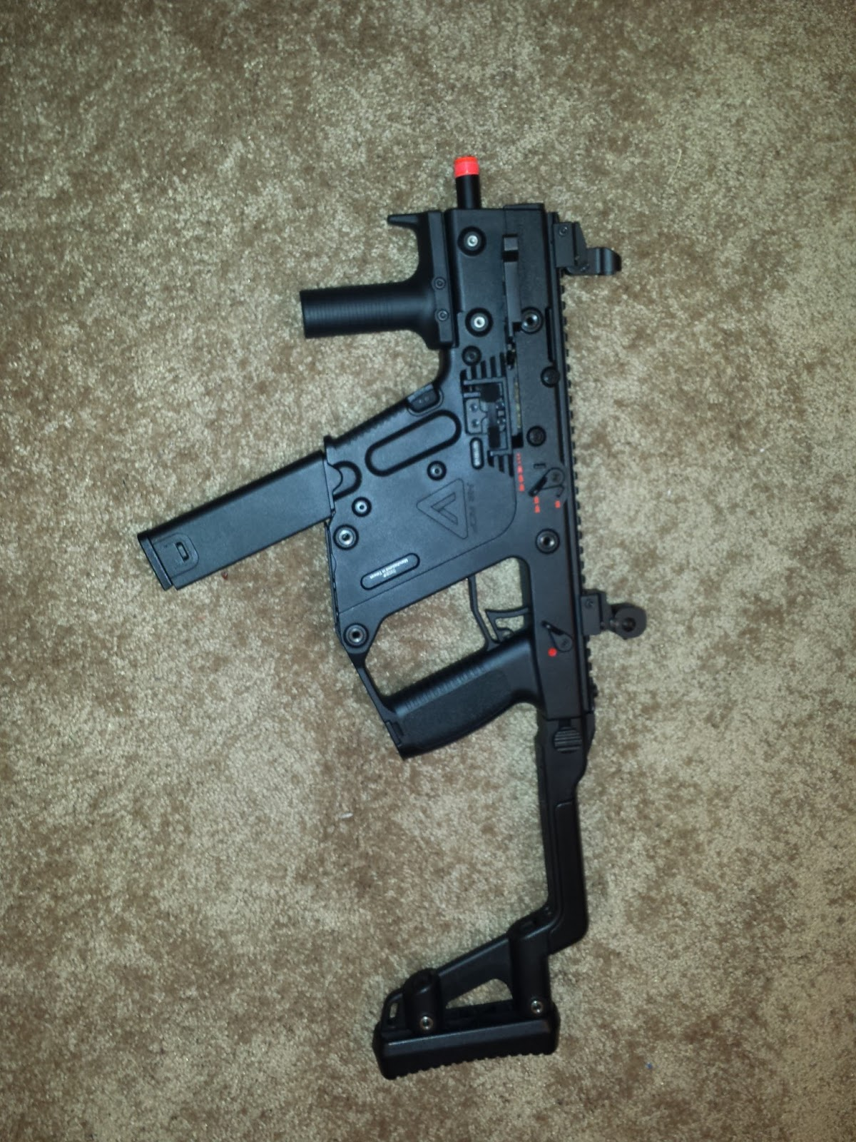 KWA Kriss vector Review - YouTube
