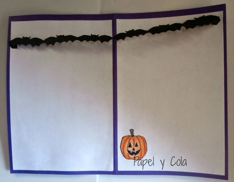 Reto Halloween - Papel y Cola