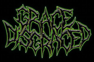 Grace Disgraced Logo, Grace Disgraced Female Fronted Technical/Brutal Death Metal from Russia