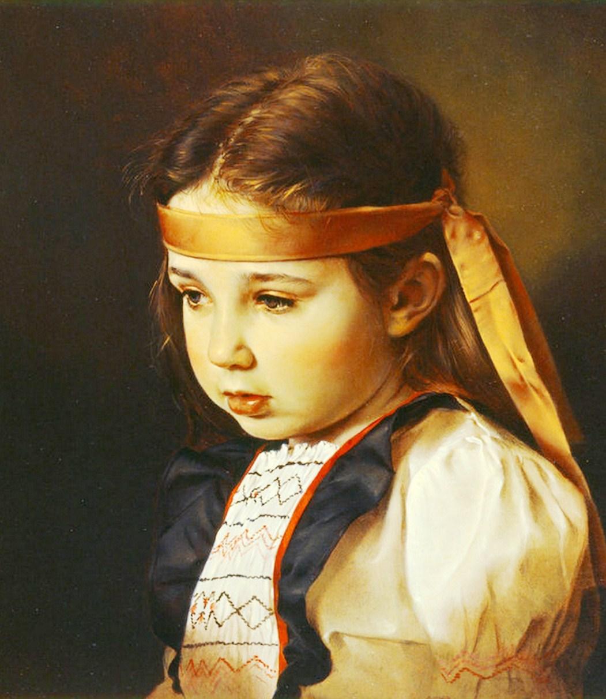 Pintura moderna y fotograf a art stica im genes de ni os - Pinturas de cara para ninos ...
