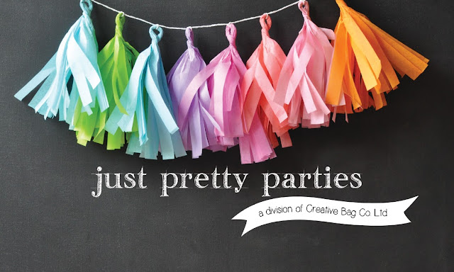 diy party supplies from Just Pretty Parties | www.justprettyparties.com