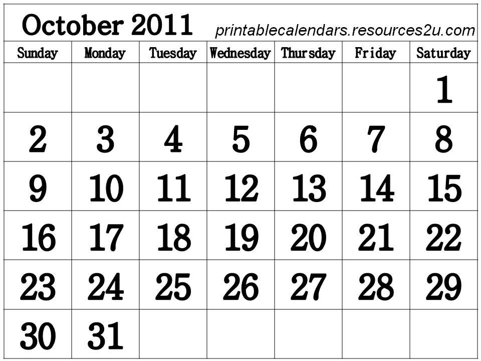 Calendars / Blank Calendars Planners: for 2011 Calendars