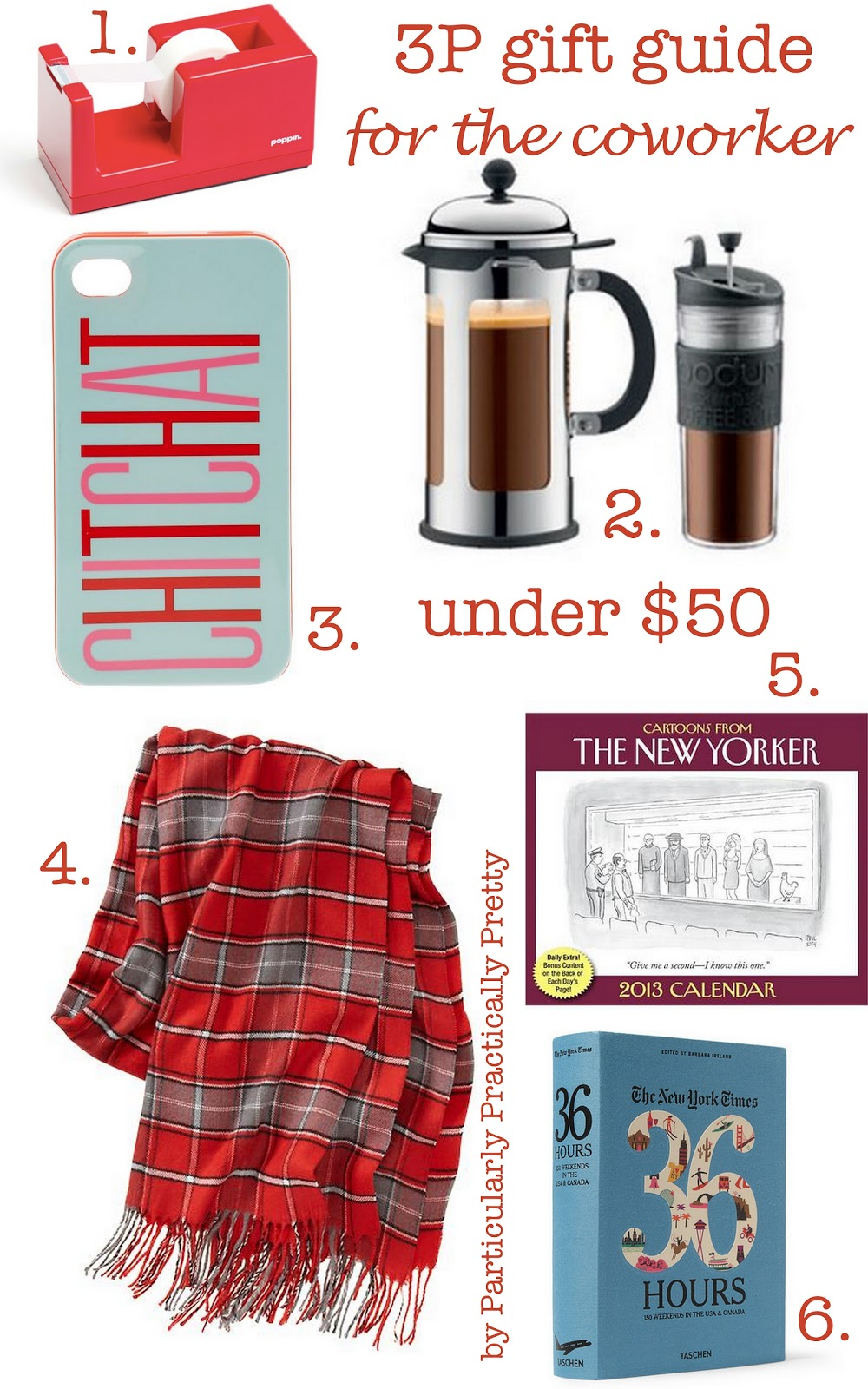 Christmas Gift Ideas For Coworkers Under 5