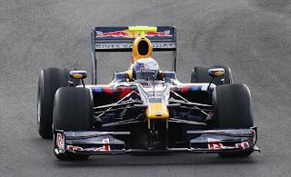 Gambar Mobil Balap F1 Red Bull 07