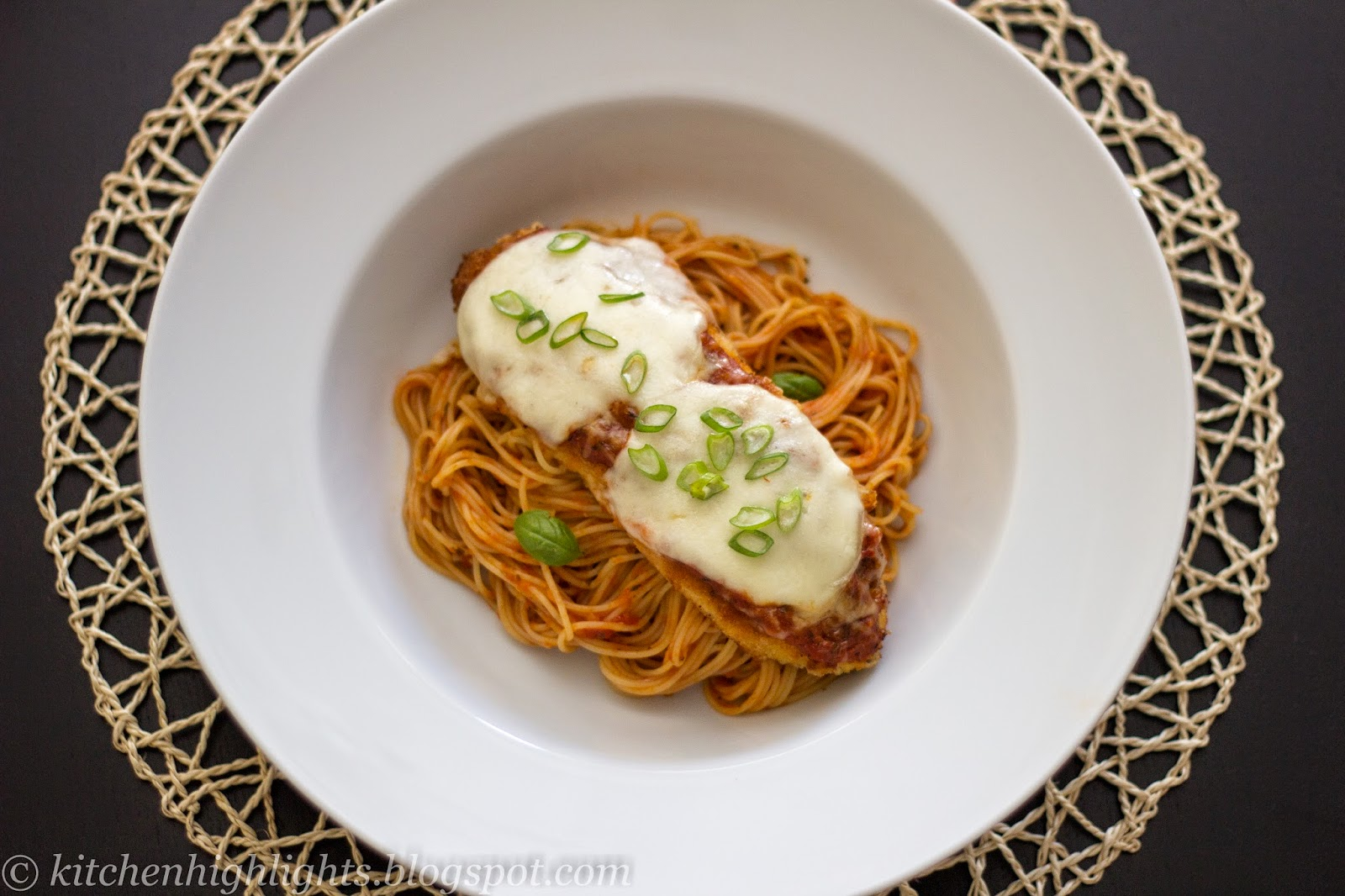 Chicken Parmesan is a traditional Italian dish full of beautiful flavors