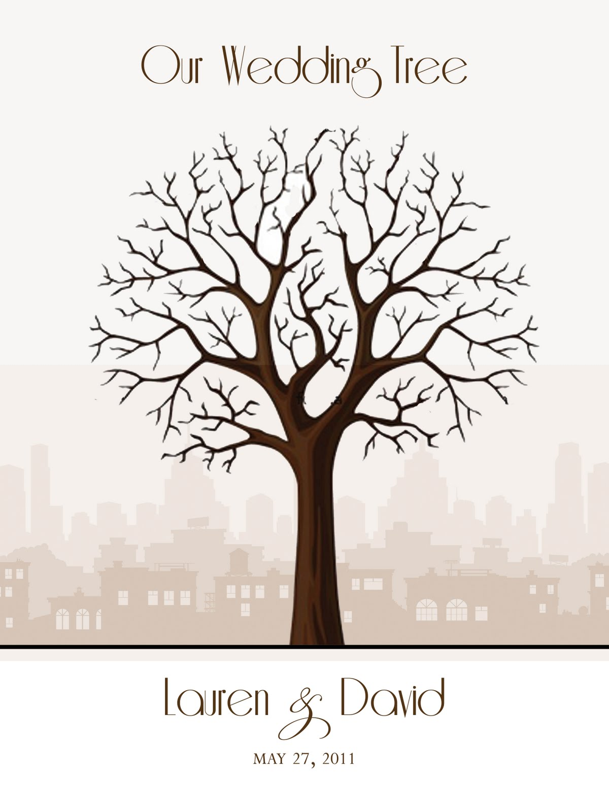 Non Traditional Family Tree Template http://eatdrinkandbemarried ...