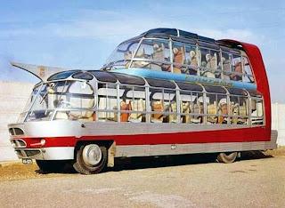 Craigslist Double Decker Bus >> transpress nz: Citroen Cityrama bus, 1950s