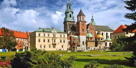 Dès 79€ -- Court séjour à Cracovie, vols A/R et hôtel inclus
