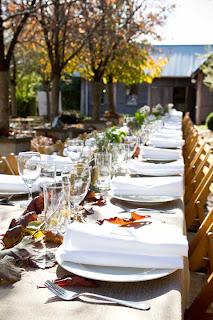 Ricardo Reception Table on Crab Apple Lane in Tasma Gardens, Daylesford