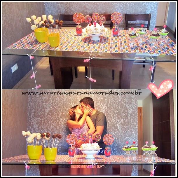 Como Comemorar Bodas De Pirulito Surpresas Para Namorados