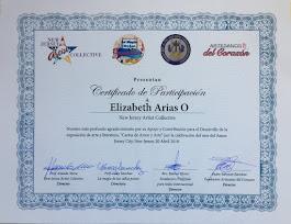 Certificado de Participación 4-20-2018
