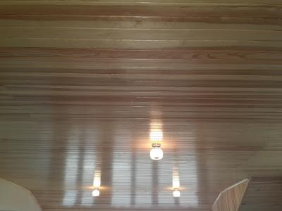Rabıtalı süper çam tavanı.