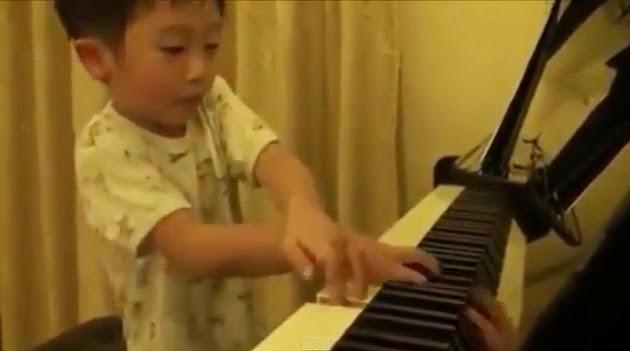 Tsung Tsung piano niño prodigio genio