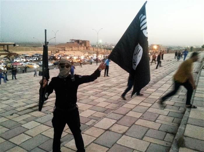 Pejuang ISIS ketika menguasai Mosul, Irak