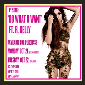Lady Gaga - Do What U Want Feat. R. Kelly
