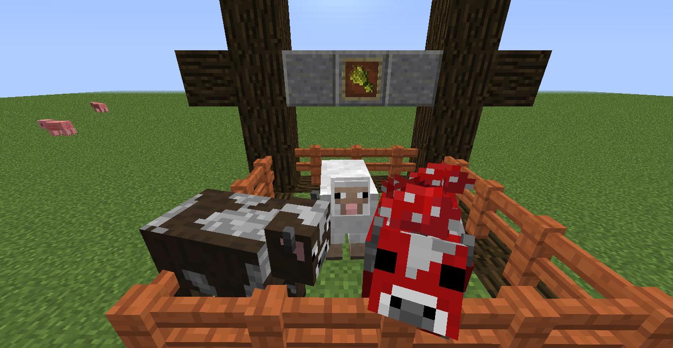 minecraft en txt: Cómo hacer que se reproduzcan los animales en ...