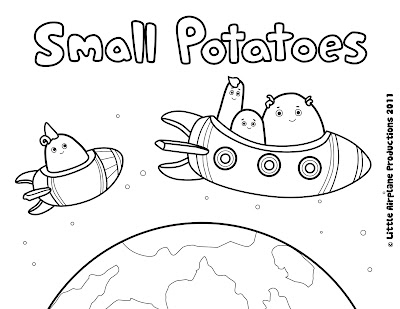 erica kepler Small Potatoes Coloring