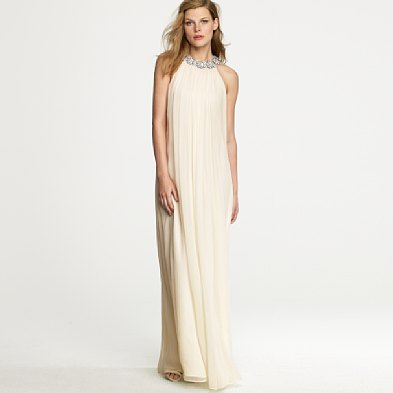 Belle of the ball fly me to the beach for J crew beach wedding dress