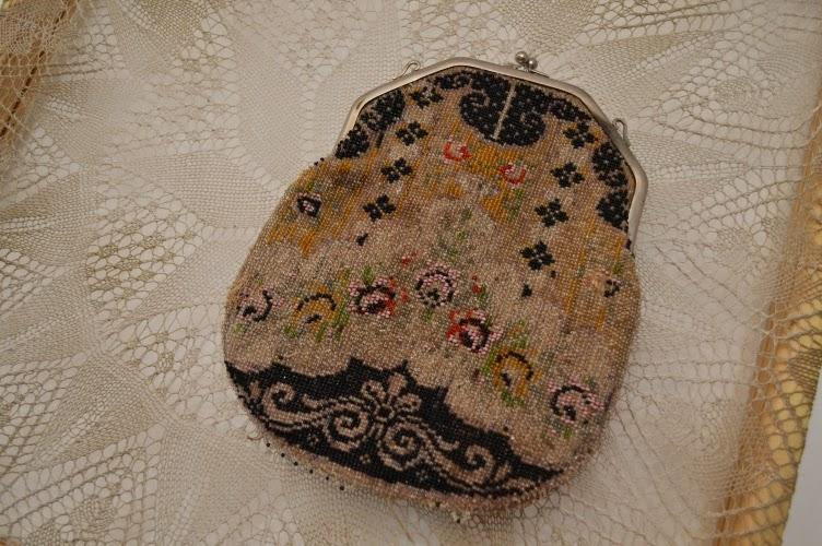 bead, purse, vintage, prague vintage fair 2014